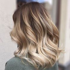 Blonde Balayage For