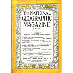National Geographic Magazine, June 1931 | $16.92