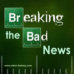 """Utter-Fantasy Football- For Complete and Utter Fantasy Fun and Dominance.      Get all the """"Breaking Bad """" news by Utter-Fantasy's Write & Illustrator Doug Bowles and by contributing writer Phil E. Stake."""