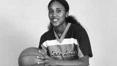 Robin Roberts in her days as a college basketball star for the Southeastern Louisiana Lady Lions. She remains among the program's career leaders in points (1,446), rebounds (1,034) and games played (114). http://www.guideposts.org/inspirational-stories/my-mother-my-inspiration?utm_source=Pinterest_medium=GP_campaign=LadyLions7.19.12