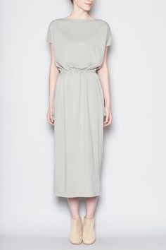 Latest womens fashion found at www.originalbloom.com Totokaelo - Black Crane - Long Dress - Sage