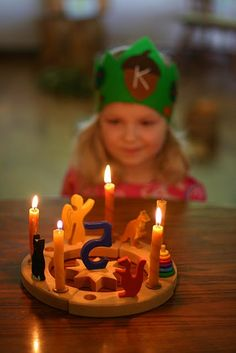 Make a post on my own blog about Waldorf birthday traditions, with a birthday story translated into Lithuanian.