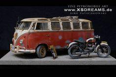 Vw and motor bike