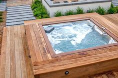 Jacuzzi Spa Mexico: Bath Tubs and Whirlpool Tubs Hot Tub Gazebo, Hot Tub Backyard, Hot Tub Garden, Backyard Pools, Pool Landscaping, Jacuzzi Pool, Pool Pool, Pool Decks, Jacuzzi Outdoor Hot Tubs