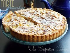 Easy recipe amandine tart Source by johanneviziau Easy Pie Recipes, Baking Recipes, Cake Recipes, Dessert Recipes, Mousse Au Chocolat Torte, French Cake, Almond Cakes, Food Allergies, Deserts