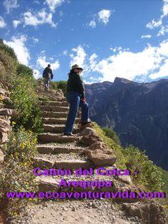 En el Valle del Colca, Arequipa