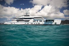 Lürssen's - Ester III #luxury #yachts #beautiful