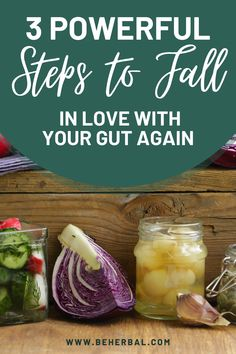 3 Powerful Steps to Fall in Love With Your Gut Again Foods That Contain Gluten, Prebiotic Foods, Improve Gut Health, Colon Health, Health And Wellness, Wellness Tips, Health Care, Anti Inflammatory Recipes, Healthy Lifestyle Tips