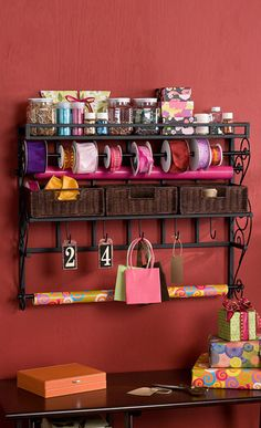 Great wall organizer for a craft room