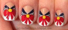sailor moon nails!! Would be so cute to do all of them! One for each nail!