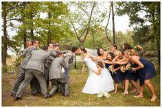 Limefish Studio Photography, Virginia Wedding Photographer, Nautical Wedding Ideas, Navy, Wedding Party Funny Pose