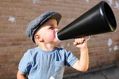 Enfant porte voix