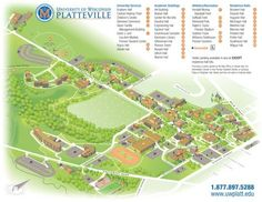 8 best Campus maps images on Pinterest   Campus map, Cards and Maps