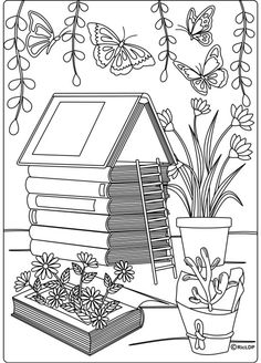 20 Coloring Pages for Grown-ups #coloringpages #color #therapy