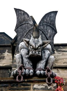 There are many theories has to how and why medieval architects and stone carvers developed gargoyles. It is believed that they were used to ward of evil and to act as guardians of the church to keep the terrible spirits of evil away...