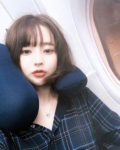 Image in hwamin chan collection by Mooo on We Heart It Cute Korean, Korean Girl, Asian Girl, Ulzzang Couple, Ulzzang Girl, Hwa Min, Korean Makeup Look, Western Girl, Korean Ulzzang