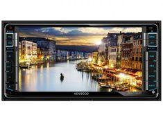 """Central Multimídia Kenwood DDX715WBT LCD 6,95"""" - USB Bluetooth Auxiliar com as melhores condições você encontra no Magazine Raimundogarcia. Confira!"""