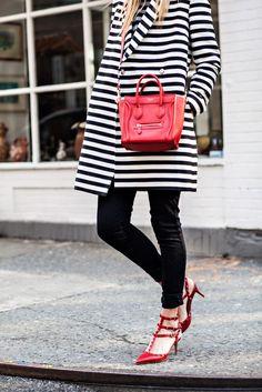 .Stripes & Prada.