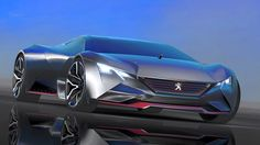 Peugeot Vision Gran Turismo Concept un bolide da 875 cavalli