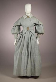 1830s dress