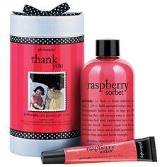 Buy Philosophy Raspberry Thank You Bath & Body Gift Set Online at johnlewis.com