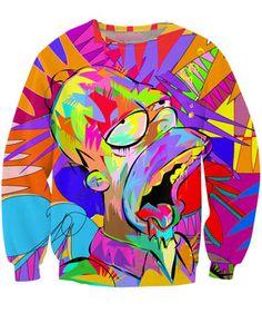 tie dye crew neck sweatshirts | ... Joggers Tie Dye Hoodie Cute Sweatshirts Couple Clothes Harajuku Style