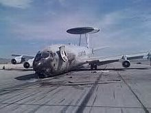 Fire-damaged on Nellis AFB ramp Military Jets, Military Weapons, Military Aircraft, Aviation Accidents, Boeing 707, Water Damage, Modern Warfare, Abandoned, Air Force