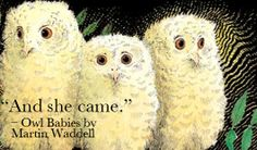 Lines from books that bring a lump to your throat Baby Owls, Owl Babies, Book Characters, Fiction, Bird, Make It Yourself, Thomas Jefferson, Books, Animals