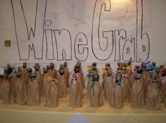 Wine Grab. Pay $25 and choose a bag. Wine Games, Auction Ideas, Silent Auction, Fundraising Ideas, Ffa, Mayo, Bingo, Cheers, Charity