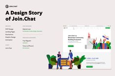 Join.Chat - A Design Story on Behance