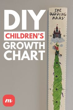 If you have young children or grandchildren you know they love to see themselves getting taller. At first I made simple ones just painting balloons, trucks, and tractors on them with their initial on top. As time went on and my youngest grandchild was born I thought of a little more elaborate growth chart – Jack and the Beanstalk. Whichever you choose, I am sure your children or grandchildren will be very pleased. Family Crafts, Diy Home Crafts, Decor Crafts, Crafts To Make, Diy For Kids, Crafts For Kids, Growth Chart Wood, Wood Initials, Balloon Painting