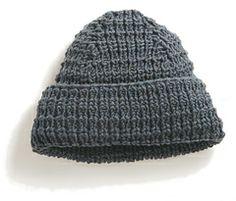 Ravelry: Karn pattern by Norah Gaughan Mens, unisex hat textured rib