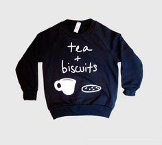 Tea + biscuits sweater