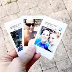 I think I'm late a little tardy to the party but I am LOVING my instax sp-2 printer. These little photographs are so stinking adorable!! They are going on the fridge immediately.