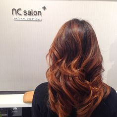 """Ready for fall?!:) copper gold #ombre #balayage"
