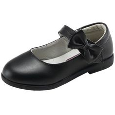 Oasap.com - oasap Girl's Velcro Strap Bow Mary Jane Perfomance Shoes -  AdoreWe.