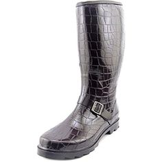 Dirty Laundry by Chinese Laundry Womens Roanoke Croco Rain BootBrown9 M US >>> Want to know more, click on the image.