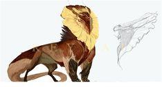 random FlowerLion for SALE \ CLOSE by https://www.deviantart.com/reykat on @DeviantArt Weird Creatures, Magical Creatures, Fantasy Creatures, Rpg, Creature Feature, Creature Design, Alien Design, Creature Concept Art, Anime Fantasia