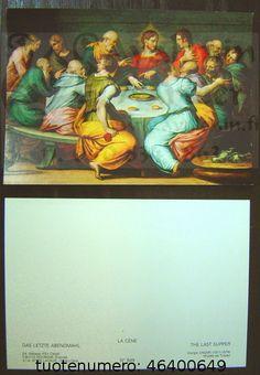 La Cène, Vasari