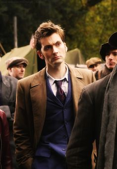 Tenth Doctor in Daleks in Manhattan. This episode had a really interesting outsider portrayal of the Great Depression, and while I felt the plot was kind of weak, it was still an interesting historical episode. :)