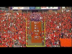 Clemson ranked #3 in the 25 Best Team Entrances in College Football! Go Tigers!! #bleacherreport #clemson #football