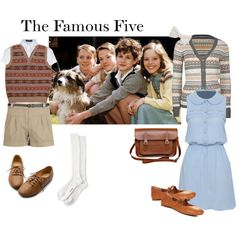 """""""The Famous Five"""" by tizzy-potts on Polyvore"""