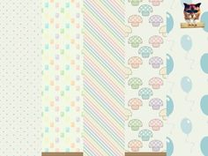 The Sims Resource: Kids Room Wallpaper Set pastel colors by Fesege • Sims 4 Downloads