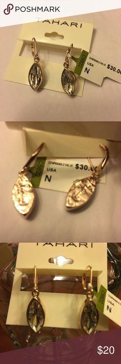 Pretty pair of Tahari earrings with rhinestones Pretty pair of Tahari earrings with rhinestone. New but no box. No hold, No trade please. Tahari Jewelry Earrings