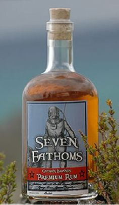 Seven Fathoms Rum, Cayman Islands |  Aged 7 leagues underwater