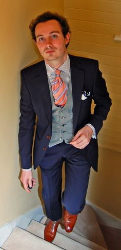 This whole outfit but in light gray and neutrals for my groom