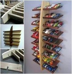 Storage solutions for toys hot wheels 30 ideas Hot Wheels Storage, Toy Car Storage, Hot Wheels Display, Baby Room Storage, Sewing Room Storage, Toy Storage Solutions, Storage Ideas, Playroom, Kids Toys
