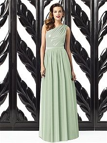 Dessy Collection 2872 #green #bridesmaid #dress