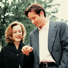 The X-Files, Fox Mulder & Dana Scully
