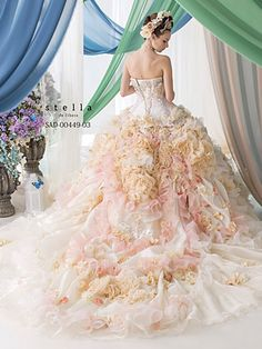 SAD-00449-03.  Stella de Libero  ~Wedding Dress~